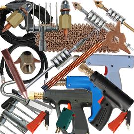 汽车钣金介子修复整形机配件焊枪机用三角重型拉锤焊丝搭铁线垫片图片