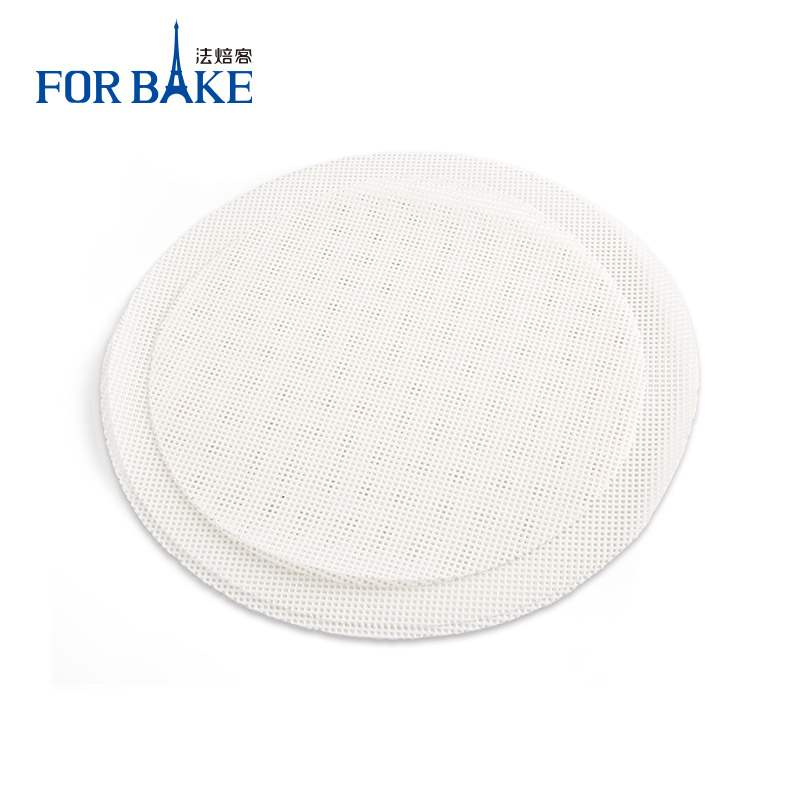 圆形硅胶馒头不粘蒸笼垫蒸包子点心垫纸垫子垫布笼屉布2张