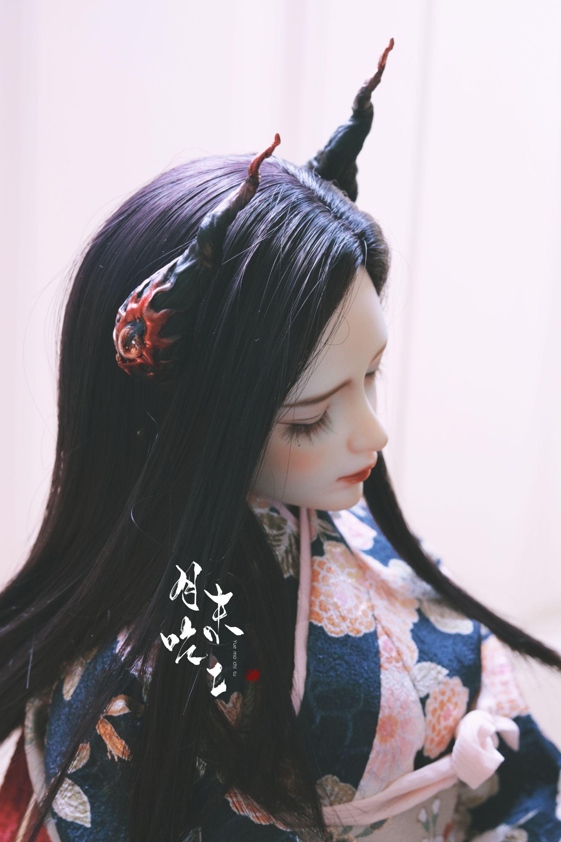 2020 Linlang Jinyuan + dark engraving cooperation BJD baby props devils corner mastema spot & pre-sale