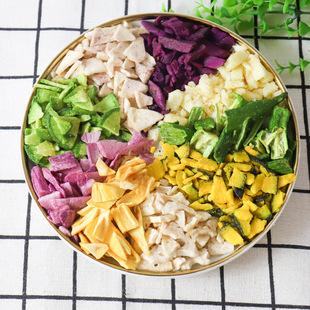 蔬菜碎果蔬脆片混合装脱水即食孕妇