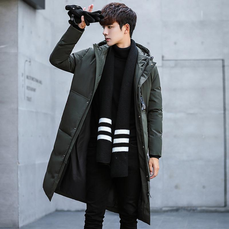 冬季2018棉衣男女宽松韩版中长款大毛领棉服加厚棉袄潮情侣装外套