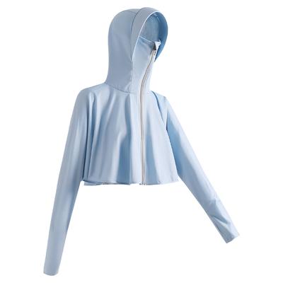 2021新款冰丝外套夏季紫外线防晒衣