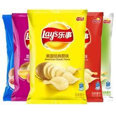薯片大包超大整箱乐事混合大包装 巨型乐士薯片 整箱大薯片超大袋