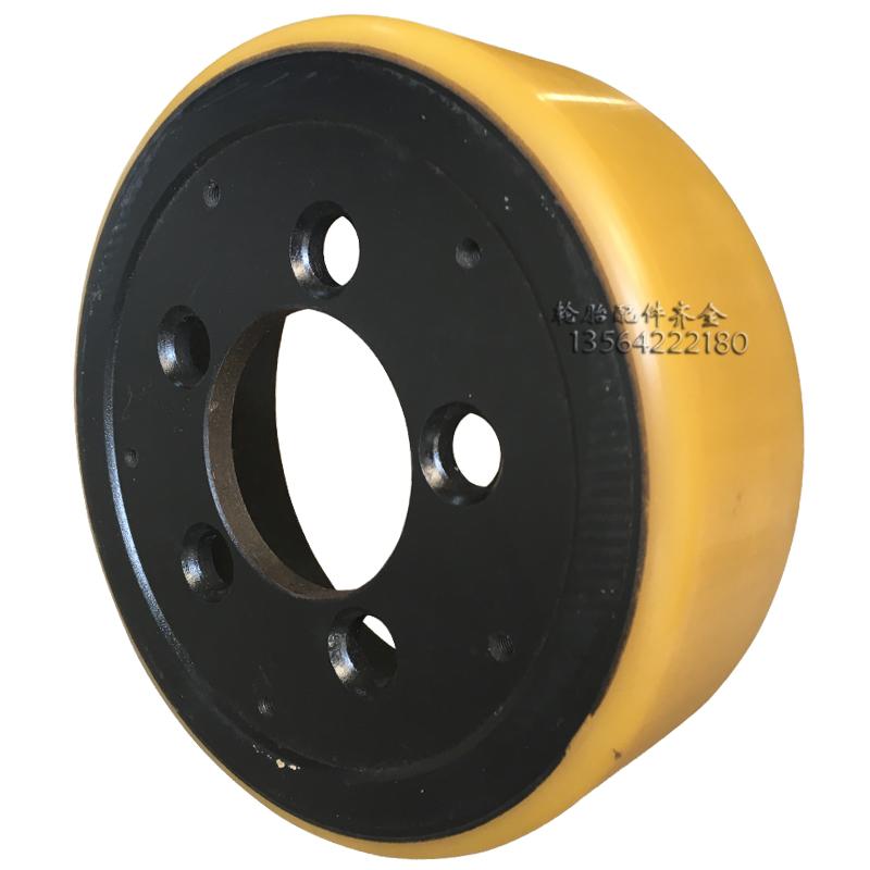 合力全电动托盘CBD1520液压装卸车248X75地牛聚氨酯驱动承重轮子