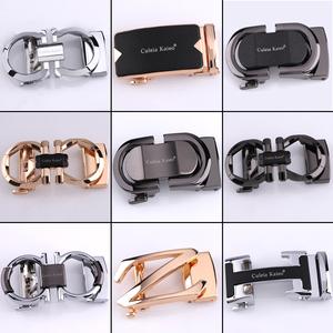 高档皮带头男士自动扣皮带扣头合金腰带扣时尚潮流配3.5皮带配件