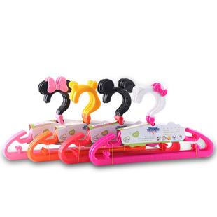 宝宝乐儿童家用塑料卡通包邮衣架