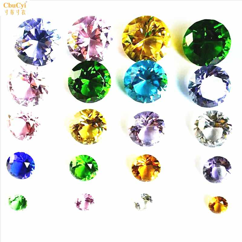 经典水晶玻璃钻石婚庆道具橱窗摆件美甲拍照手机眼镜珠宝柜台装饰