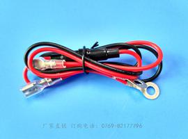 汽车摩托车改装点烟器USB充电器插座端子连接线束带10A保险管