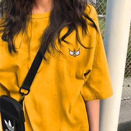 2020年夏季新款早秋情侣闺蜜女装半袖上衣服ins大码宽松短袖t恤潮