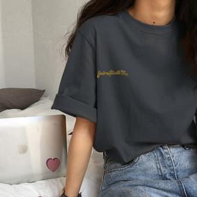 2020年夏季新款韩版情侣半袖潮t恤