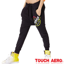 TOUCH Aero Hip hop dance Pants sweat breathable jazz dance trousers mens and womens fitness pants big pants 624