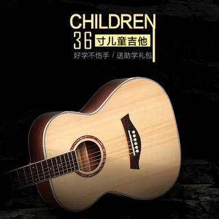 Гитары электроакустические,  36 дюймовый баллада гитара мужской и женщины студент новичок начиная новая рука практика путешествие портативный небольшой гитара, цена 6531 руб