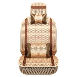 单片汽车坐垫夏季凉垫冰丝座垫透气夏天车用椅垫正副驾驶单座座套