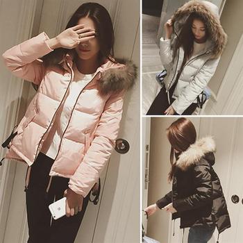 中学生冬季2018新款韩版加厚棉衣