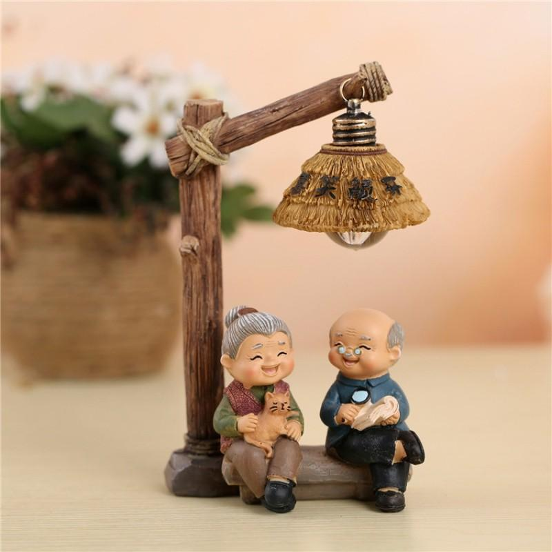Golden wedding anniversary gift silver wedding souvenir for parents and senior citizens