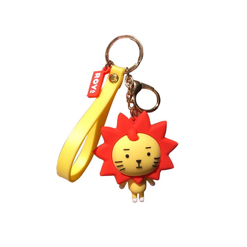 ROY6王源设计同款钥匙扣小挂件小狮子莱阳公仔书包挂件挂饰应援