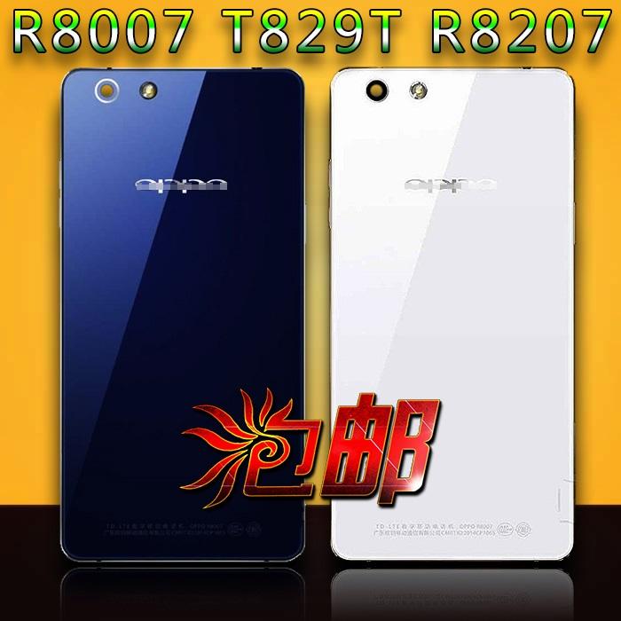 适用于OPPO R1S R8007 R829T电池盖OPPOR8207钢化玻璃后盖 后屏壳