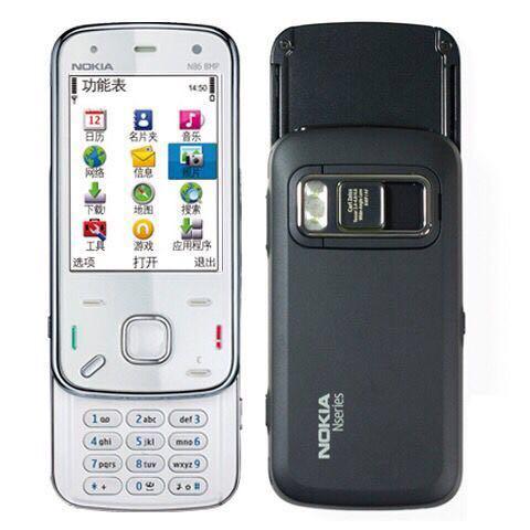 Nokia/诺基亚N86滑盖按键内存8G联通移动带WIFI学生备用按键手机