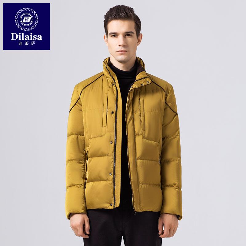 冬季羽绒服男士短款韩版修身帅气2018冬装潮流保暖大码外套