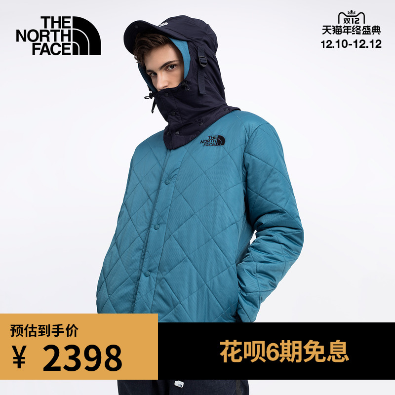TheNorthFaceUE北面KK PADDED JACKET男加棉连帽外套保暖|4U66