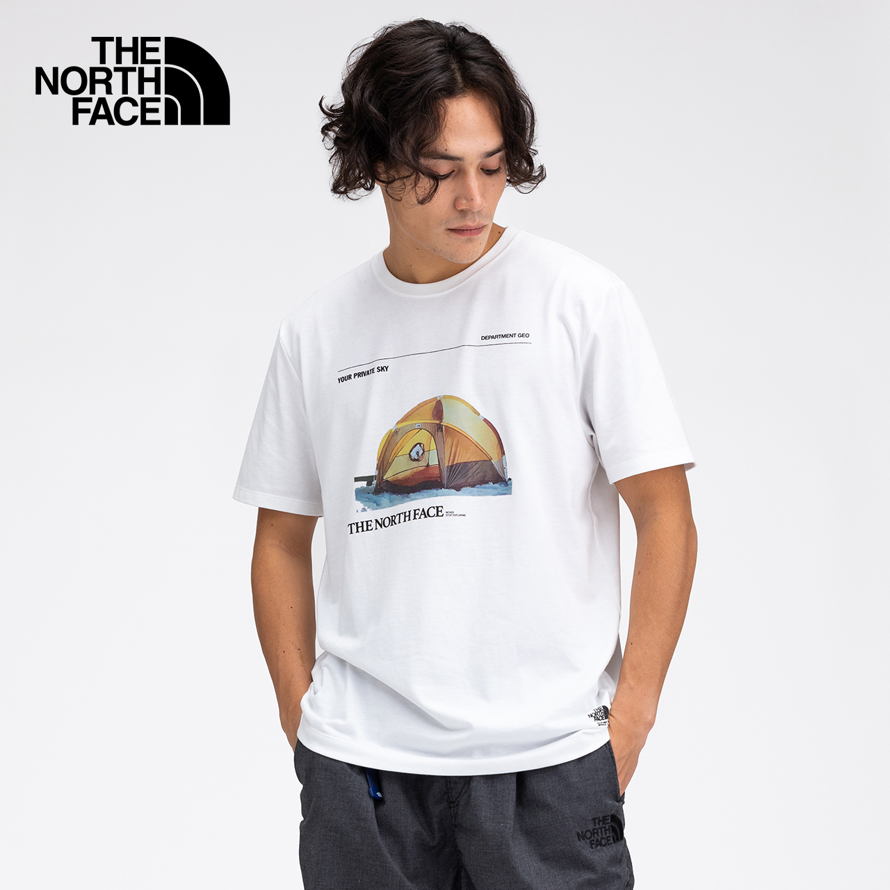TheNorthFaceUE北面KK 02 SS TEE男仓石一树短袖T恤速干|49CX