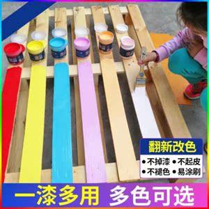 旧划线桶装桌子木质墙壁油漆墙面漆划痕漆钢琴漆手涂漆水性翻新外