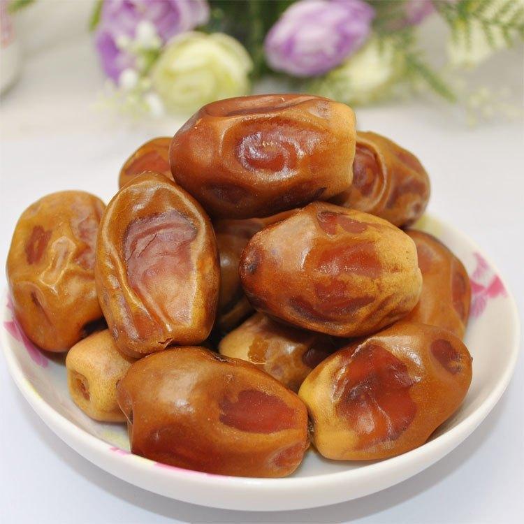 推荐原生态风干枣伊拉克蜜枣散装大枣黄金特级椰枣中东进口零食2