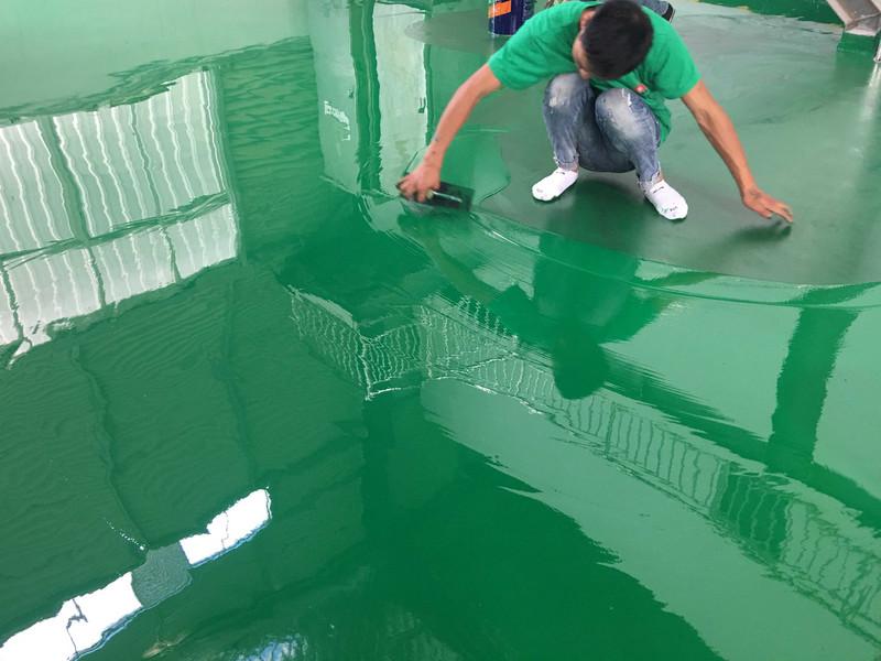 耐磨地板防静电自流平厂房车库包工包料施工环氧地坪漆水泥地面漆