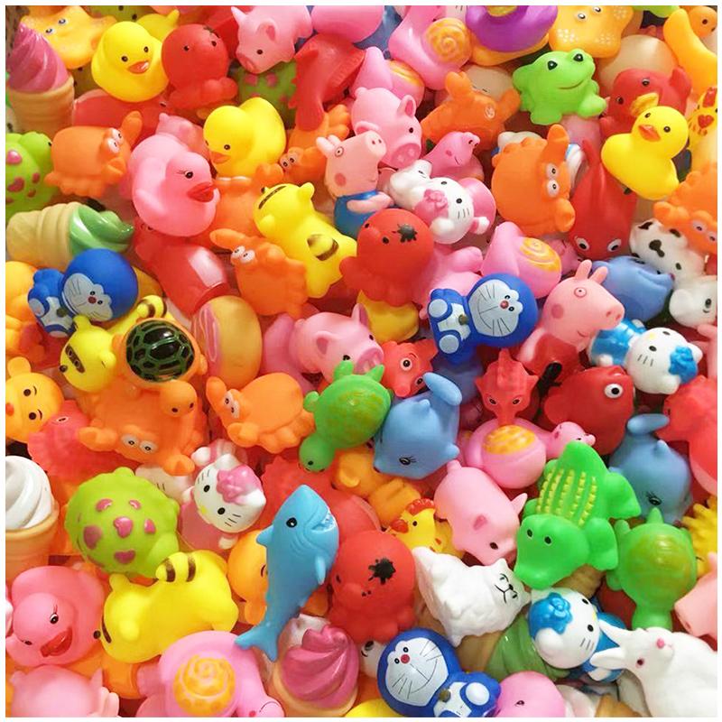 11.90元包邮儿童洗澡戏水玩具小黄鸭鸭子玩具