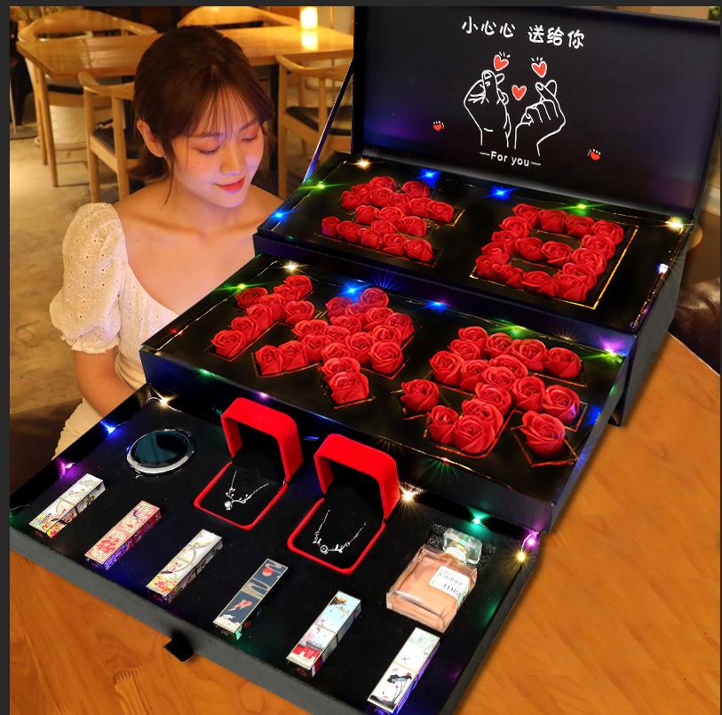 特别高档实用的生日礼物女生送老婆送女友送给闺蜜朋友七夕情人节