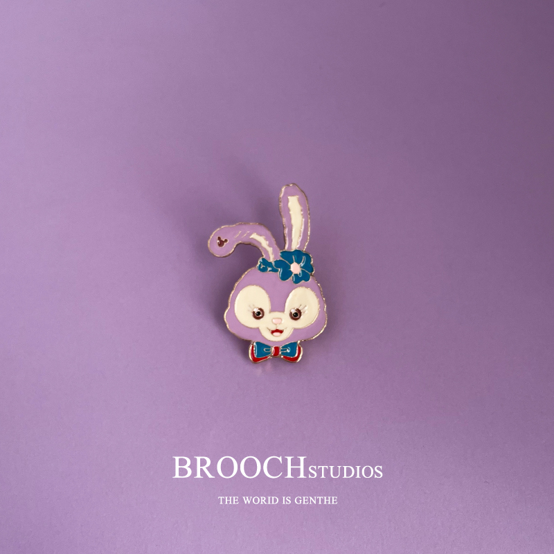 BROOCH星黛露兔子胸针男书包装饰女卡通可爱日系学生包包徽章配饰