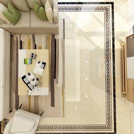负离子通体大理石瓷砖800x800地砖卫生间木纹砖阳台厕所浴室客厅图片