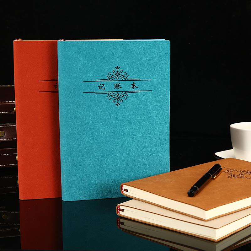 新款记账本家庭理财笔记本懒人现金日记帐本财务明细账收支手账本(用18.2元券)