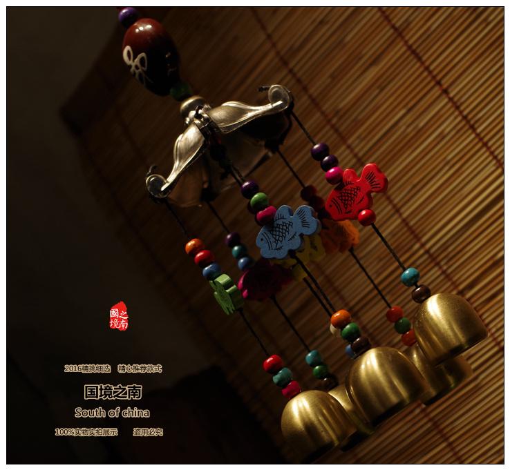 К югу от границы Национальные особенности этнических меньшинств в Юньнань Лицзян характеристики личности ручная работа Ветер колокол копия медь новая коллекция