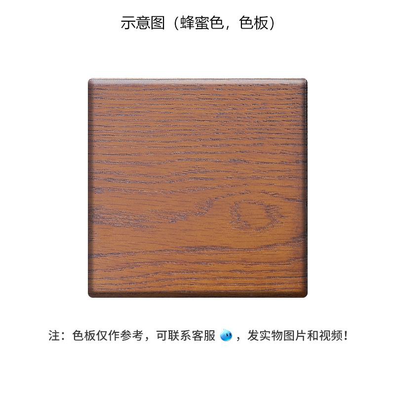 美式纯实木床实木家具简约现代美式卧室单人双人床1.8米1.5米储物