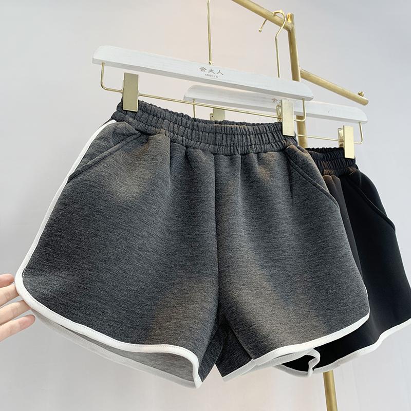 (用66元券)太空棉宽松韩国秋季新款2019阔腿裤