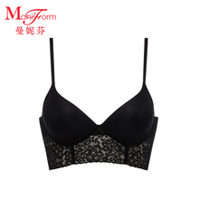 Maniffen Ring-Free Lace Beautiful Bra Comfortable Trackless Sexy Sleep Bra