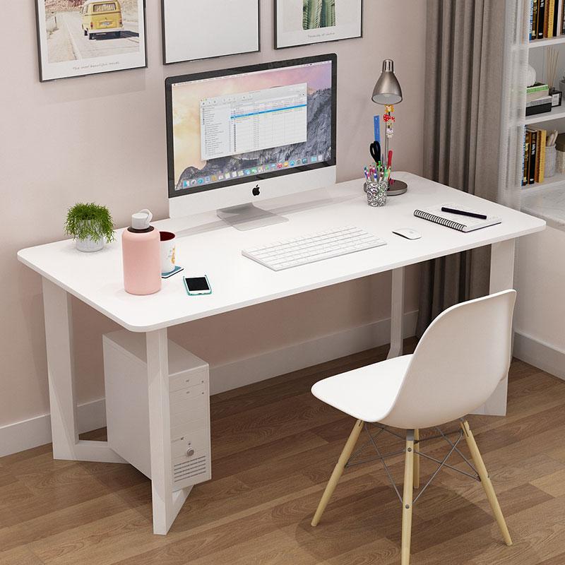 满55.00元可用1元优惠券电脑台式桌单人学习写字单人款家用简约现代学生卧室书桌小户型窄