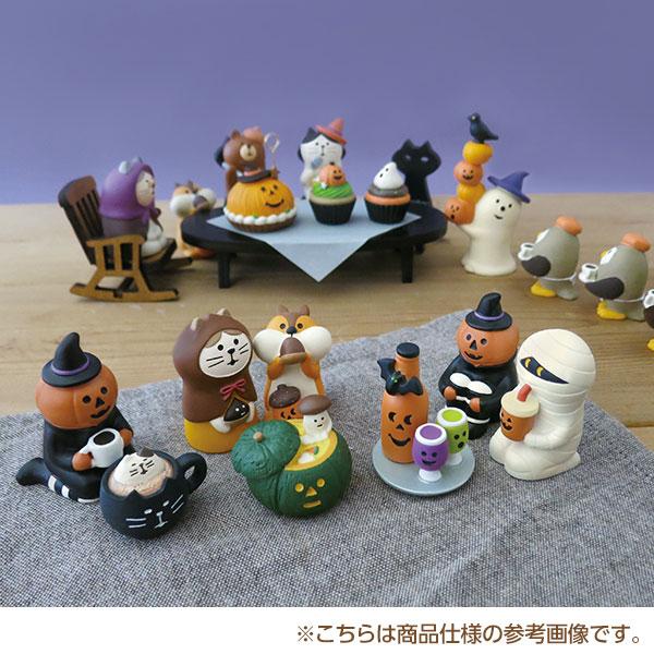 日本Hamee 正版DECOLE concombre 万圣节动物造型 家居摆件装饰品