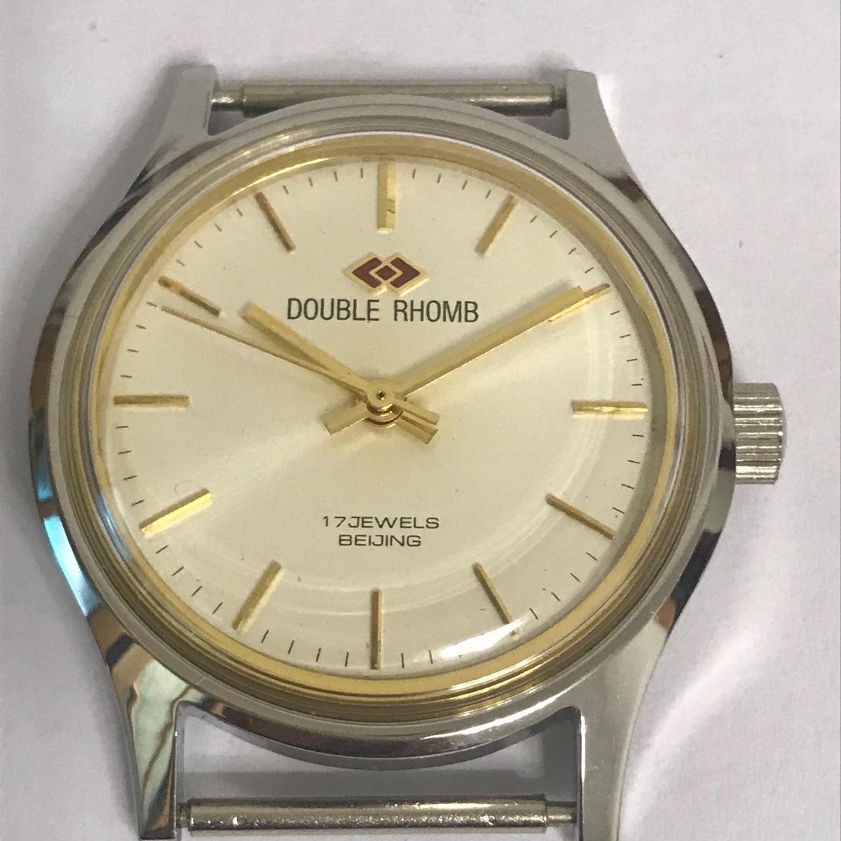 北京产双菱手表手动上弦机械手表老旧款式复古董收藏品质正库存原