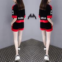 网红两件套装俏皮2020新款夏装女时尚韩版洋气很仙的气质御姐套装