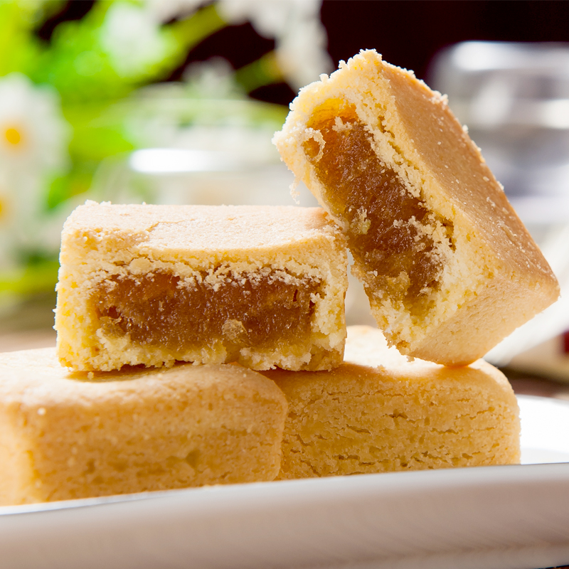 Instant pineapple cake, imported snack, mango cake, afternoon tea cake, snack, Taiwan traditional snack 168g