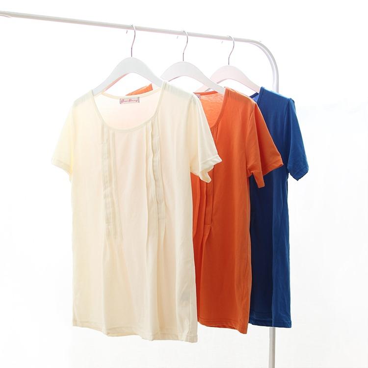 Отдельный список качественный импортный товар лето короткий рукав беременная женщина наряд T футболки грудное вскармливание куртка из одежда подача молоко одежда