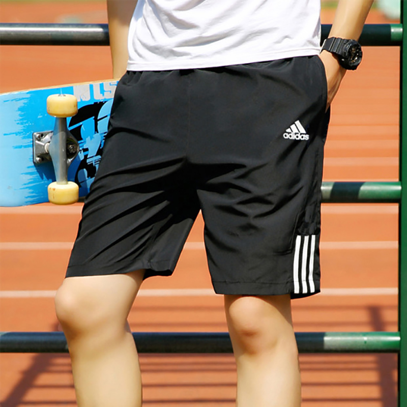 Adidas official website flagship sports shorts men's Clover running speed dry fitness pants breathable men's pants