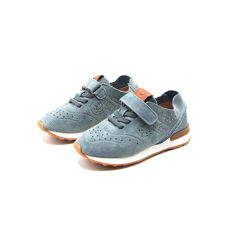 (用366元券)鞋柜女童宝宝运动单鞋子休闲鞋舒适时尚透气系带魔术贴1117434116
