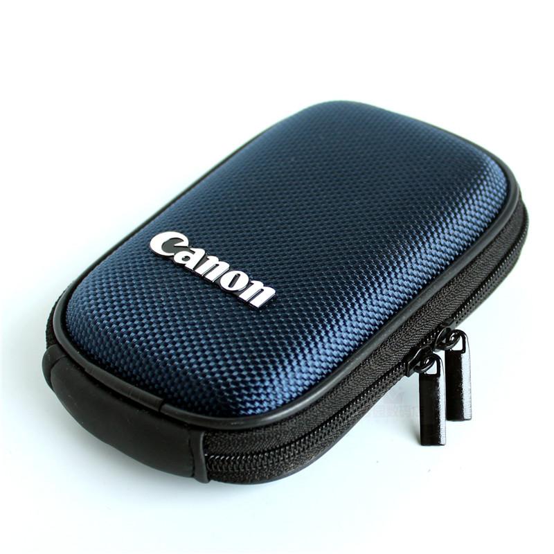 佳能數碼相機包硬殼包卡片數碼包便攜照相機包手包配件通用小手包