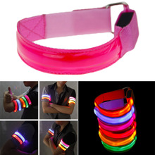 Outdoor Sports Night Running Light Safety Jogging Led Arm Le