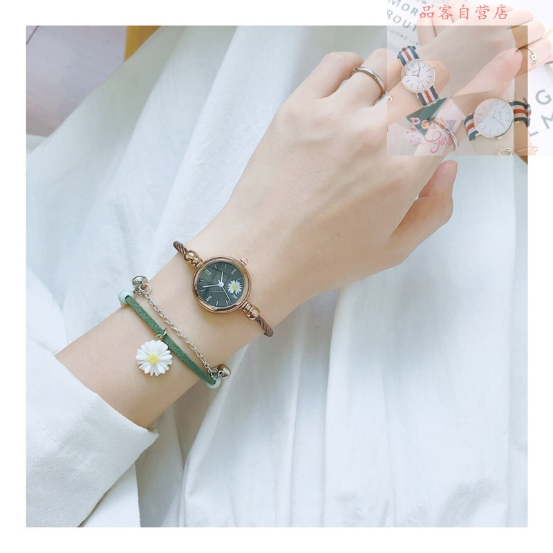 Antique Chinese style watch womens ribbon small mini temperament exquisite small dial womens simple waterproof student
