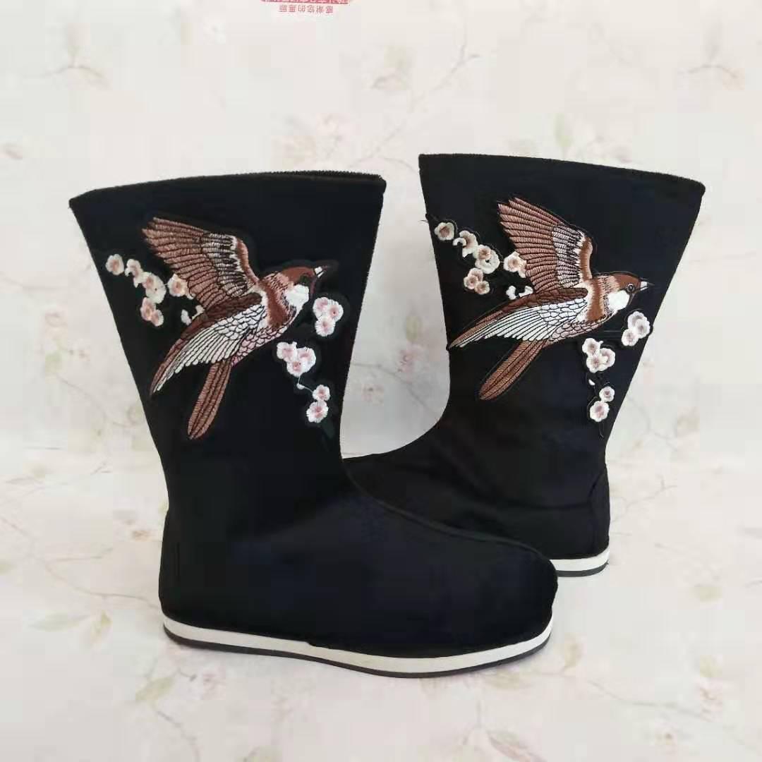 古代靴男性演目布靴戯曲漢服靴時代靴漢靴古風男性靴官靴中国風靴