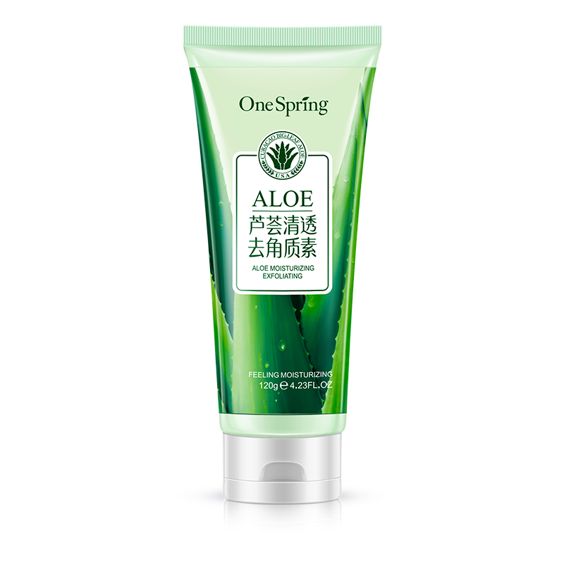 A spring aloe vera moisturizing and brightening skin product